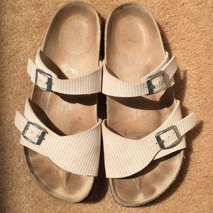 Birki's Striped Sandals